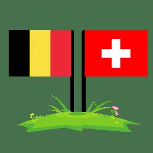 Drapeaux Suisse et Belge - page d'accueil airAvis